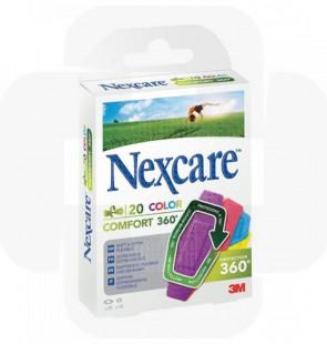 Nexcare-comfort strips color cx20 360º