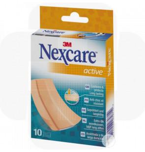Nexcare-Active tiras p/cortar. emb.10 unid