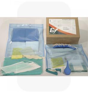 Kit de parto de emergência cx c/1 set