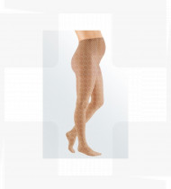 Meia Mediven Elegance AMU collant gravidez CL1 com biqueira Tam.IV