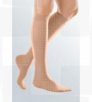 Meia Mediven Elegance AD até ao joelho curta CL1 com biqueira Tam.II