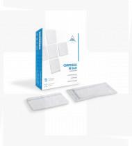 Compressa de gaze estéril ADA 10x10cm 8cam c/RX (emb10) cx1200