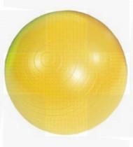 Bola Gym Ball 45cm amarela c/bomba p/encher