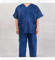Fato bloco azul escuro tipo pijama tam. S