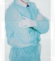 Bata de proteção PP azul saco 10