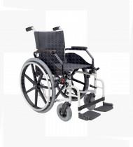 Cadeira de rodas Ibera 45- pneus maciço