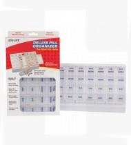 Caixa organizadora semanal de comprimidos 24.8x17x3.5cm