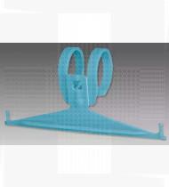 Suporte p/ saco urina plástico