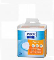 Fralda cueca Lindor Pants abs.normal saco15 (80-120cm) tam M, 6 gotas dia