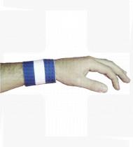 Ligadura de pulso adesiva