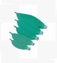 Balão de anestesia 3L descartável verde conector 22F
