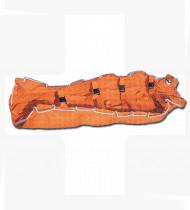 Colchão de emergência em vácuo laranja 210 x 90 cm
