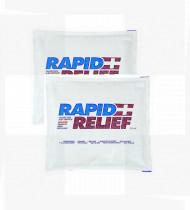 Compressa de frio quente Rapid reutilizável 26 x 30cm