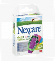 Nexcare-comfort strips color cx20 360º