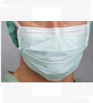 Máscara cirúrgica de uso médico c/ fitas extra proteção especial cx 60
