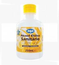 Álcool etílico sanitário 70º 250mL