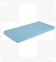 Colchão simples p/berço espuma de baixa densidade revestido a tela hospitalar c/fecho 675x375x60mm