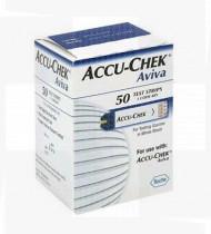 TESTES GLICEMIA ACCU-CHEK AVIVA 50 TIRAS