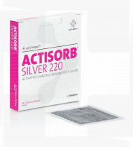 Actisorb Silver 10,5x10,5cm penso cx10