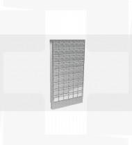 Armário de medicamentos de fixação à parede, c/54 caixas basculantes,estrutura inox 85x640x1150mm