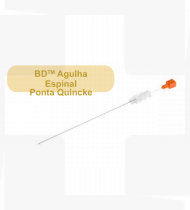 Agulha BD espinal Ponta Quincke 27 GA cx25