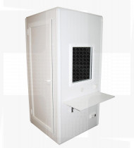 Cabine de Audiometria S-BASIC (96 x 96 x 208 cm)