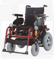 Cadeira de rodas elétrica Space 1 vermelha 45