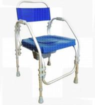 Cadeira de banho alumínio Pacific fixa 44 s/rodas
