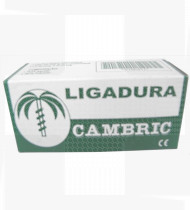 Ligadura Cambric Indes 10cm x10m.