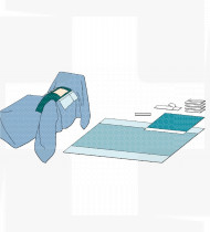 Trouxa de laparoscopia (Abdo-perineal)