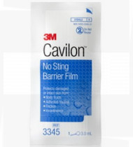 Cavilon protetor cutâneo não irritante estéril com aplicador 3mL cx25