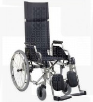 Cadeira de rodas Ibera cama preta 41 Ra Pn-50