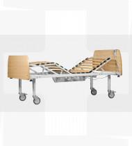 Cama elétrica 4 planos c/cabeceiras faia EPOXY 1950x930x500mm 68kg