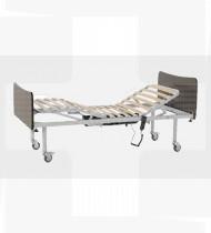 Cama elétrica 4 planos c/cabeceiras melamina EPOXY & cerejeira 1900x900x500mm 68kg