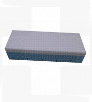 Colchão hospitalar anti-escara viscoelástico - capa BioPruf 190x90x14 cm (10+4)