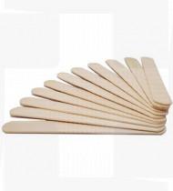 Espátula laringes madeira estéril emb.individualmente cx100