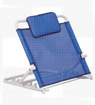 Apoio costas p/cama cor azul escuro