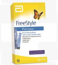 Testes glicemia FreeStyle Precision 50 tiras