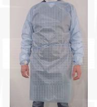 Bata de proteção azul 25 grs TNT + 15 grs laminado