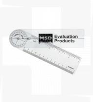 Goniómetro plástico Rulong de 0 a 360º 20cm