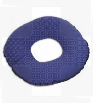 Almofada anti-escara circular c/furo-Algodão (coxim) Ø45x16cm