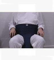 Cinto de imobilização pélvico 40 cm cadeira de rodas 69x9 cm