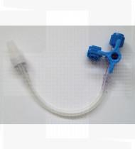 Torneira 3/4 vias c/prolongador m/f 10cm CareFusion