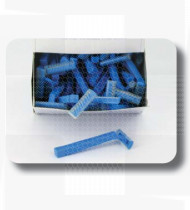 Lâmina descartável simples n/esterilizadas Romed cx100 (tipo Gilette)