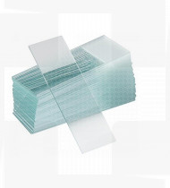 Lâmina de vidro 76x26mm bordos esmerilados cx50