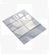 Luva plástico esterilizada Dahlhausen tam.  L cx100