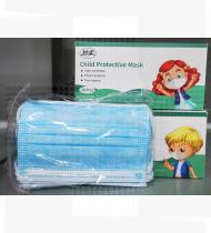 Máscara de proteção de criança c/elásticos saco 50