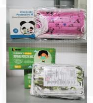 Máscara de proteção de criança padrão c/elásticos saco 50