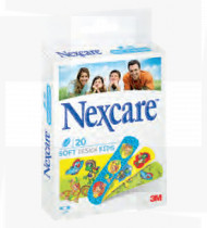 Nexcare kids sensitive  cx 20 tiras