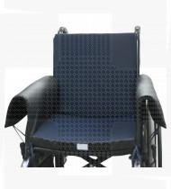 Almofada anti-escara QuadTech modular viscoelástica  p/cadeira de rodas 42x42x8 cm